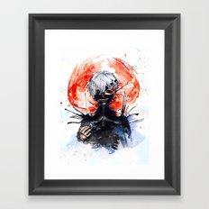Tokyo Ghoul - Kaneki Ken Framed Art Print