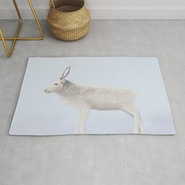 Young Reindeer from Lapland Rug