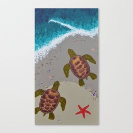 The Tide Canvas Print