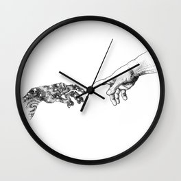 The Creation of Outer Space Wall Clock