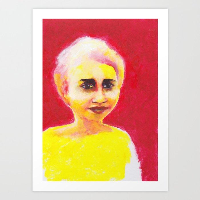 Les petites filles I.35 Art Print