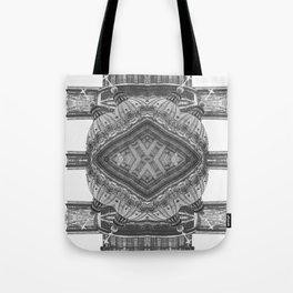Architecture navajo b&w Tote Bag