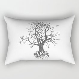 Out by the Roots Rectangular Pillow