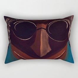 La Doña del Sol Rectangular Pillow