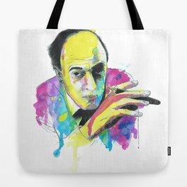 Roald Dhal Watercolor Tote Bag