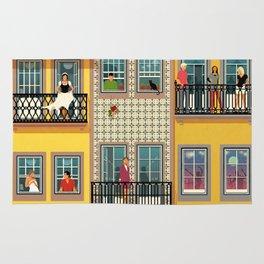 Porto Houses - Portugal Rug