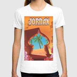 Jordan Palace travel poster T-shirt