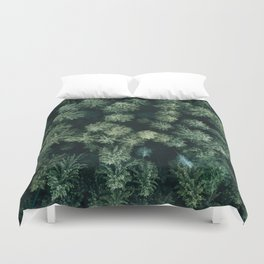 Forest from above - Landscape Photography Duvet Cover