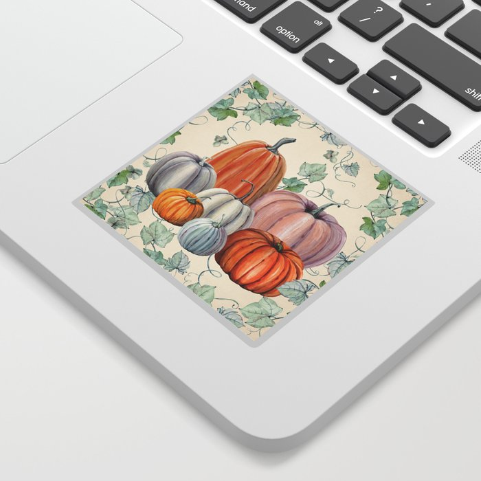 Pumpkin Patch Sticker