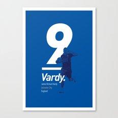 Vardy Leicester Canvas Print