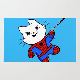 Spiderkitty! Rug