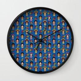 Munecas Wall Clock