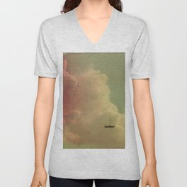 Once Upon a Time a Little Boat Unisex V-Neck