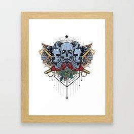 Drop the Bomb Framed Art Print