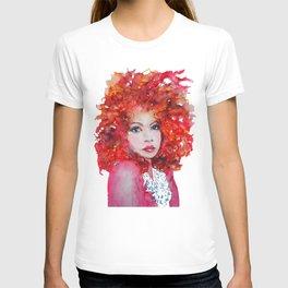 Ginger fall T-shirt