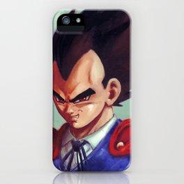 Vampire Vegeta iPhone Case