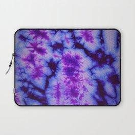 Tie Dye in Blue and Purple Laptop Sleeve