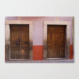 Mexican Doors 3 Canvas Print