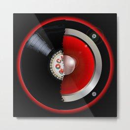 Record Speaker Metal Print