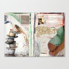 Thinkin' & Planning Canvas Print
