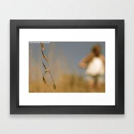 Focus. Framed Art Print