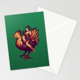 Mog's Chocobo Riding Club Stationery Cards