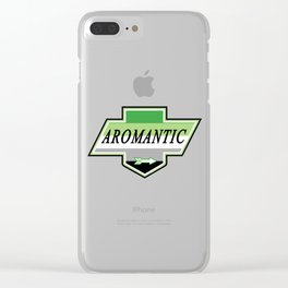 Identity Stamp: Aromantic Clear iPhone Case