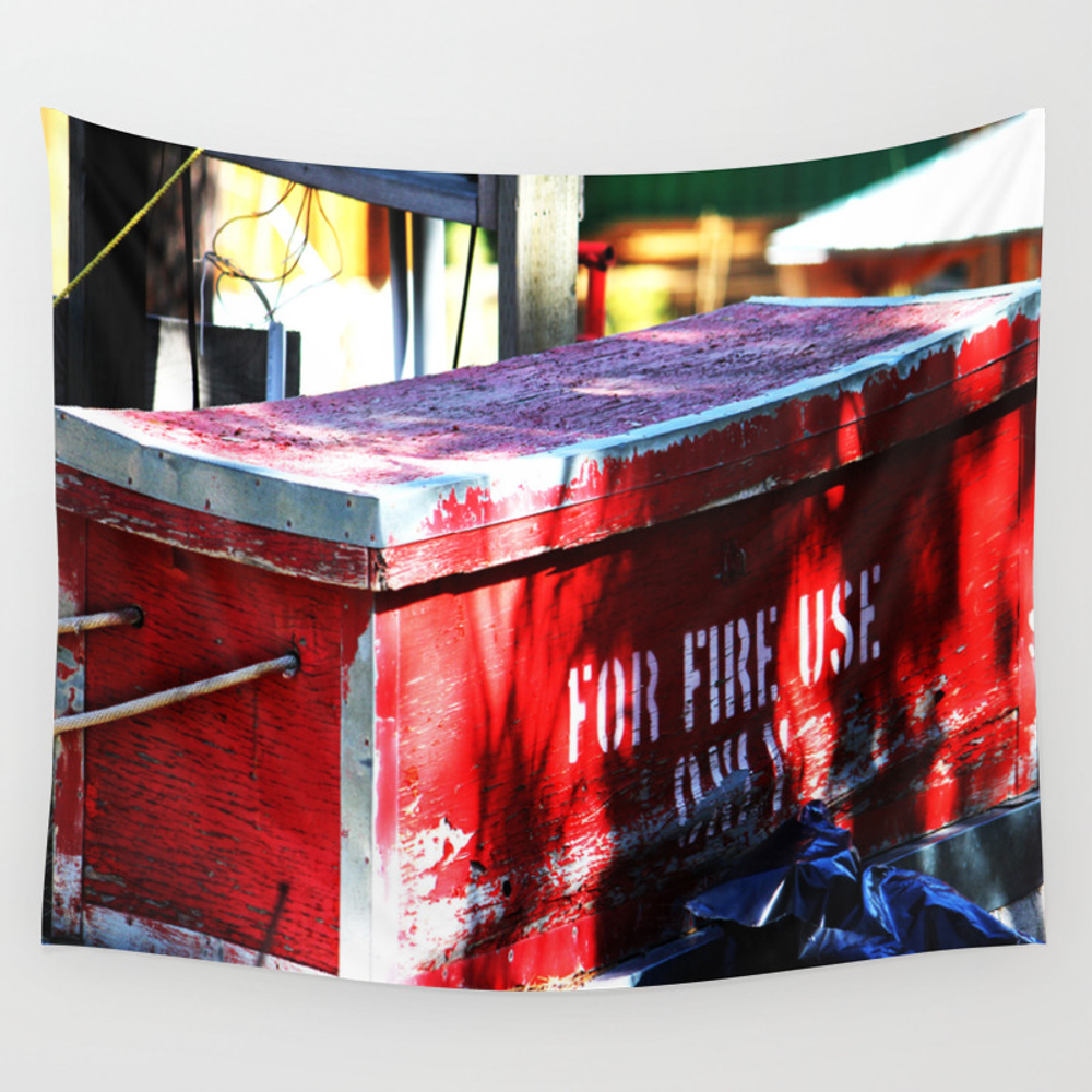 For Fire Use Only Wall Tapestry by Jeffreyjirwin TPS7879205