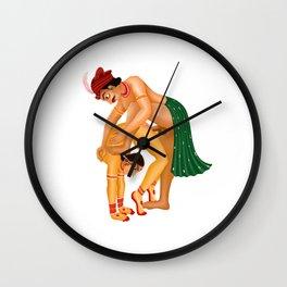 Kamasutra art Wall Clock