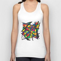 stained glass Tank Tops featuring Stained Glass by preview