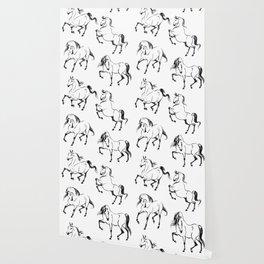 Dancing Horses Wallpaper