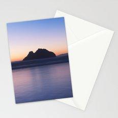 Rocky Sunset Stationery Cards