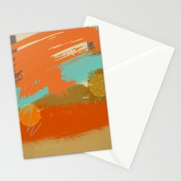 Secret Places, Abstract Landscape Art Stationery Cards
