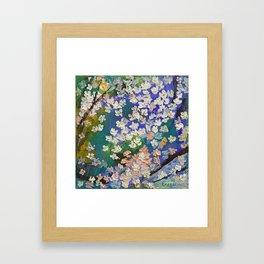 Sakura Oil Painting Framed Art Print