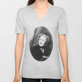 Agatha Christie Unisex V-Neck
