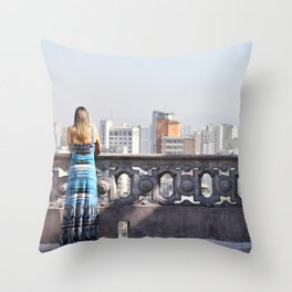 from the highs Throw Pillow