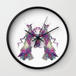 Inkdala XXII - Ink Blot Wall Clock