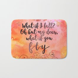 What if you fly? Bath Mat