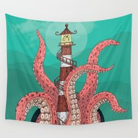 sleep Wall Tapestries featuring Sleep by Arron Croasdell