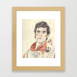 poe ft. bb-8 Framed Art Print