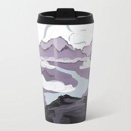 Across a Mountain Valley  Travel Mug