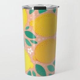 Meyer Lemons Travel Mug
