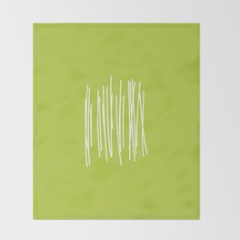 Wood - Minimal FS - by Friztin Throw Blanket