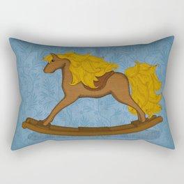 Peta approved racehorse Rectangular Pillow