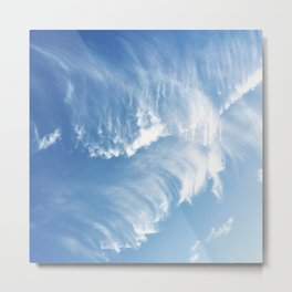 Sky Waves Metal Print