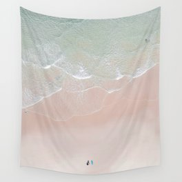 Surf yoga Wall Tapestry