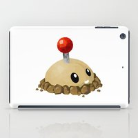 potato iPad Cases featuring Potato Mine by Sharna Myers