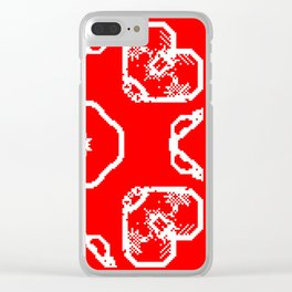 "CA Fantasy ""Valentine's Day"" series #1 Clear iPhone Case"