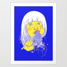 FEED ME 1 Art Print