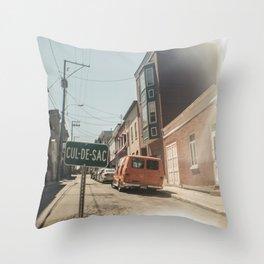 Cul-de-sac Throw Pillow